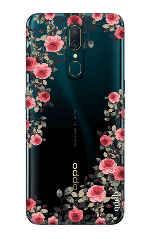 Floral French Oppo A9 Cases & Covers Online