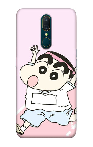 Running Cartoon Oppo A9 Cases & Covers Online