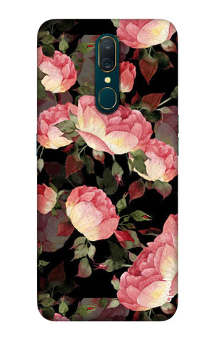 Watercolor Roses Oppo A9 Cases & Covers Online