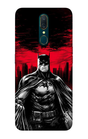 Marvelous Superhero Case Oppo A9 Cases & Covers Online