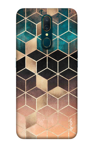 Bronze Texture Case Oppo A9 Cases & Covers Online
