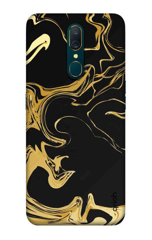 Copper Liquid Case Oppo A9 Cases & Covers Online