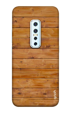Natural Wood Vivo V17 Pro Cases & Covers Online