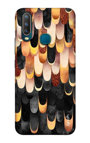 Bronze Abstract Case Vivo U10 Cases & Covers Online