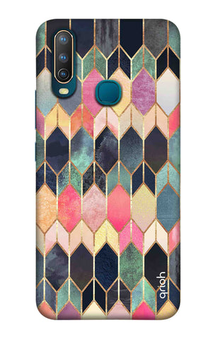 Colorful Brick Pattern Case Vivo U10 Cases & Covers Online