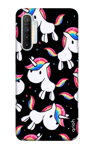 Colourful Unicorn Realme XT Cases & Covers Online