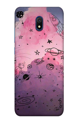 Space Doodles Art Xiaomi Redmi 8A Cases & Covers Online