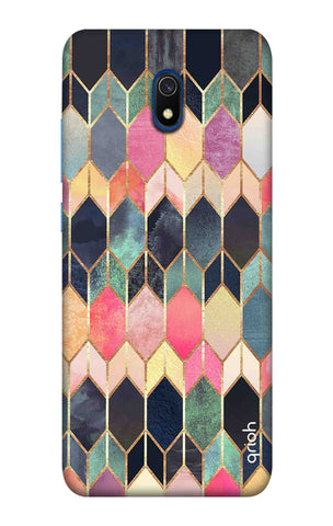 Colorful Brick Pattern Case Xiaomi Redmi 8A Cases & Covers Online