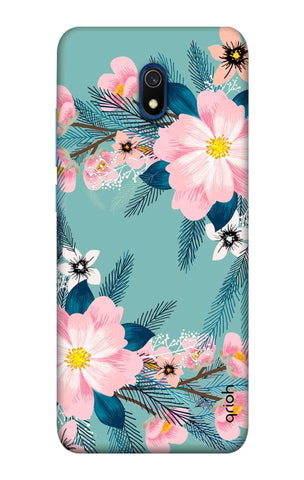 Graceful Floral Case Xiaomi Redmi 8A Cases & Covers Online