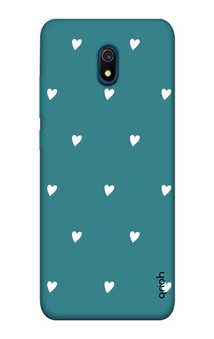 Mini White Hearts Case Xiaomi Redmi 8A Cases & Covers Online