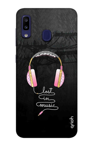 Lost In Music Samsung Galaxy M10s Cases & Covers Online