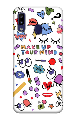 Makeup Your Mind Samsung Galaxy M10s Cases & Covers Online