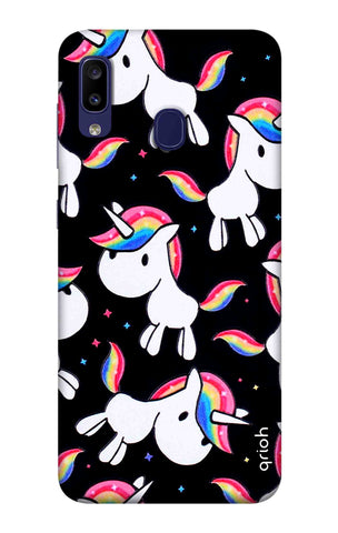Colourful Unicorn Samsung Galaxy M10s Cases & Covers Online