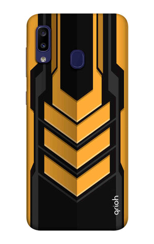 Futuristic Arrow Case Samsung Galaxy M10s Cases & Covers Online