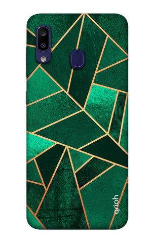 Emerald Tiles Case Samsung Galaxy M10s Cases & Covers Online