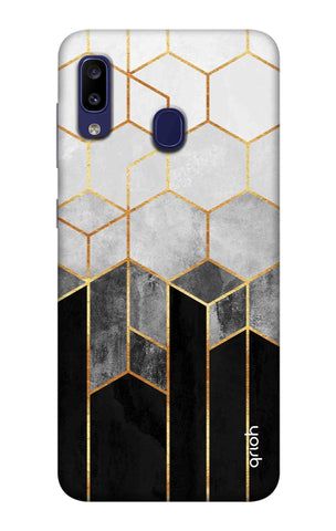 Tricolor Pattern Case Samsung Galaxy M10s Cases & Covers Online