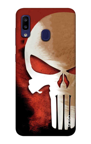 Red Skull Case Samsung Galaxy M10s Cases & Covers Online