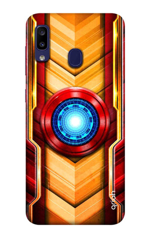 Arc Reactor Case Samsung Galaxy M10s Cases & Covers Online