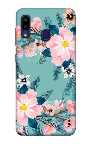 Graceful Floral Case Samsung Galaxy M10s Cases & Covers Online