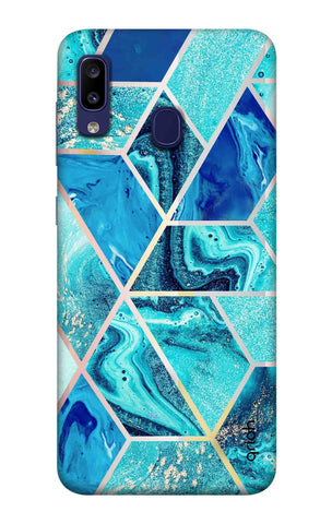 Aquatic Tiles Case Samsung Galaxy M10s Cases & Covers Online