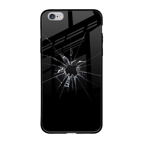 Cracked Hole iPhone 6s Glass Cases & Covers Online