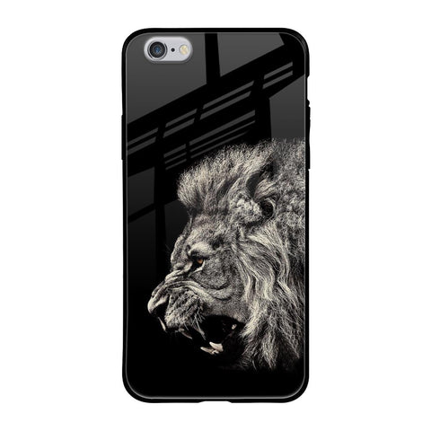 Brave Lion iPhone 6s Glass Cases & Covers Online