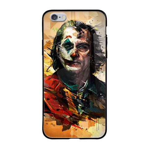 Psycho Villain iPhone 6s Glass Cases & Covers Online