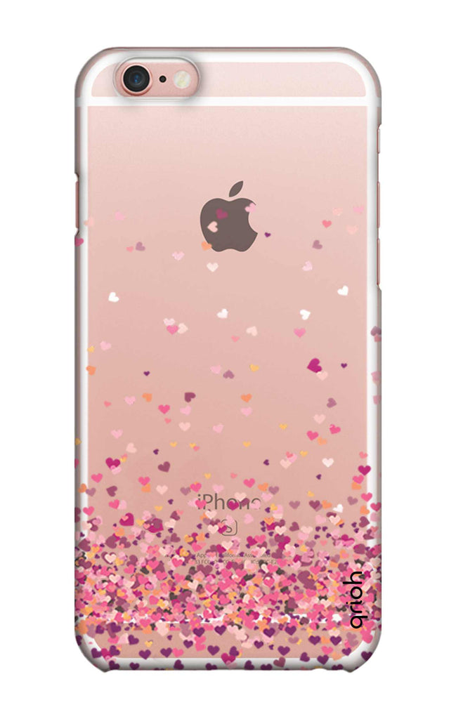 7e9084b746 Cluster Of Hearts iPhone 6S Back Cover - Flat 35% Off On iPhone 6S Covers –  Qrioh.com