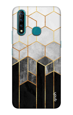 Tricolor Pattern Case Vivo Z5X Cases & Covers Online