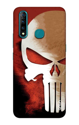 Red Skull Case Vivo Z5X Cases & Covers Online