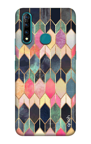 Colorful Brick Pattern Case Vivo Z5X Cases & Covers Online