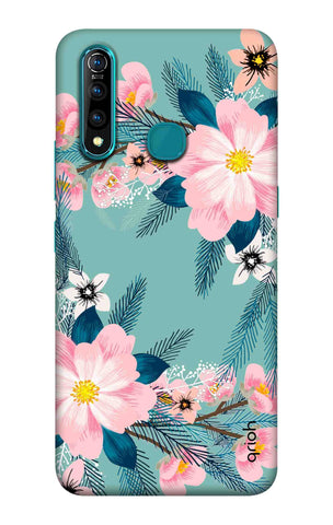 Graceful Floral Case Vivo Z5X Cases & Covers Online