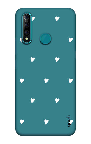 Mini White Hearts Case Vivo Z5X Cases & Covers Online