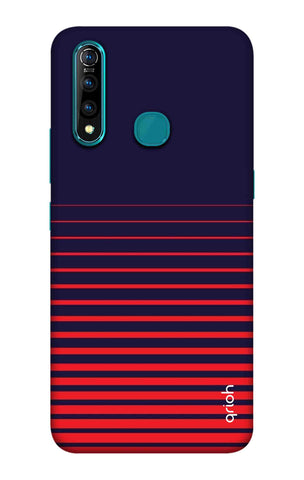 Ascending Stripes Case Vivo Z5X Cases & Covers Online