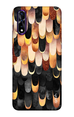 Bronze Abstract Case Vivo iQOO Neo Cases & Covers Online