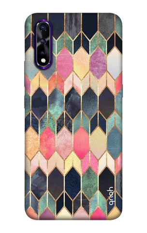 Colorful Brick Pattern Case Vivo iQOO Neo Cases & Covers Online