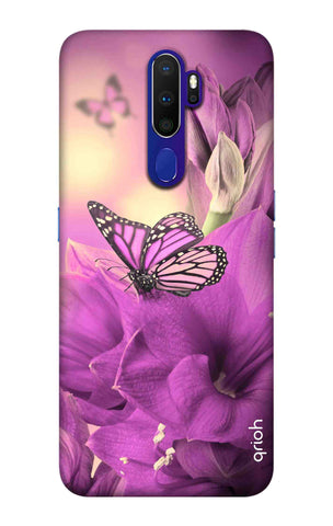 Purple Butterfly Oppo A9 2020 Cases & Covers Online