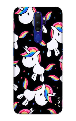 Colourful Unicorn Oppo A9 2020 Cases & Covers Online