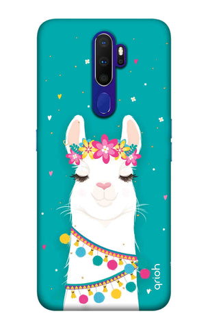 Adorable Llama Case Oppo A9 2020 Cases & Covers Online