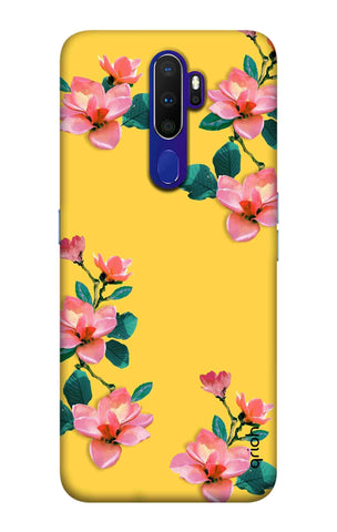 Elegant Floral Case Oppo A9 2020 Cases & Covers Online