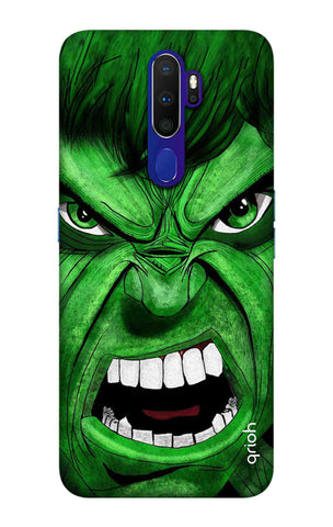 Angry Man Case Oppo A9 2020 Cases & Covers Online