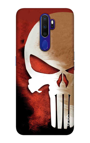 Red Skull Case Oppo A9 2020 Cases & Covers Online