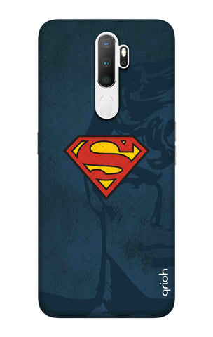Wild Blue Superman Oppo A5 2020 Cases & Covers Online