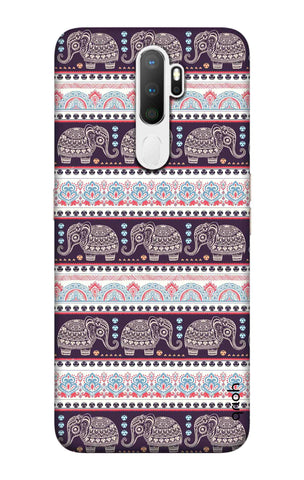 Elephant Pattern Oppo A5 2020 Cases & Covers Online