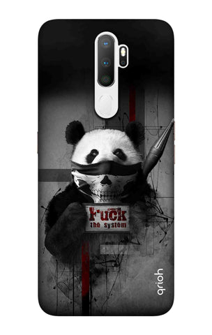 Mischievous Panda Case Oppo A5 2020 Cases & Covers Online