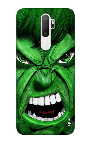 Angry Man Case Oppo A5 2020 Cases & Covers Online