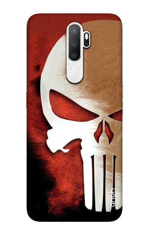 Red Skull Case Oppo A5 2020 Cases & Covers Online