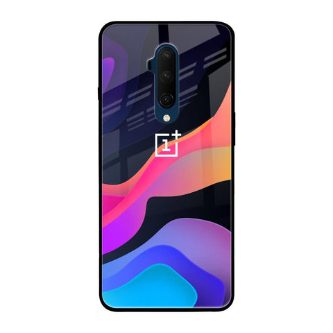 Colorful Fluid OnePlus 7T Pro Glass Cases & Covers Online