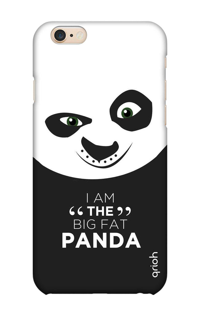 9c268b0c59 Big Fat Panda iPhone 6S Plus Back Cover - Flat 35% Off On iPhone 6S Plus  Covers – Qrioh.com