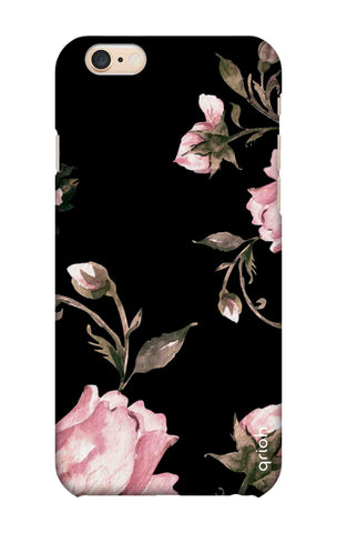 Pink Roses On Black iPhone 6S Plus Cases & Covers Online